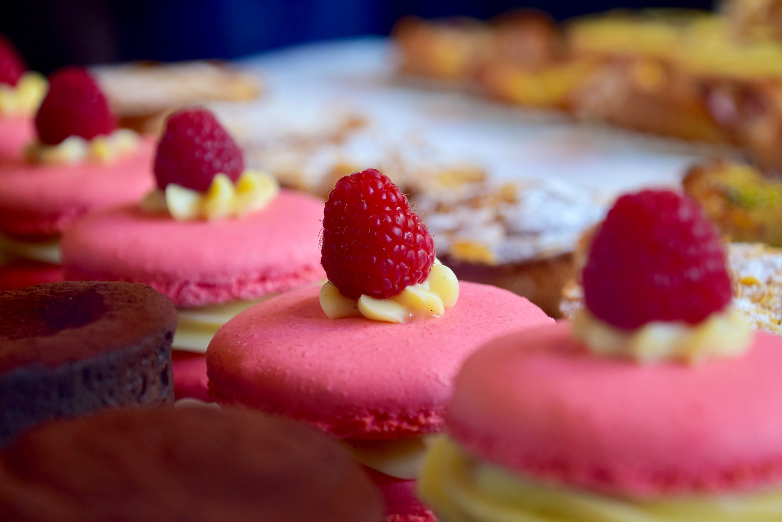 Pink Strawberry Champagne Cookies.